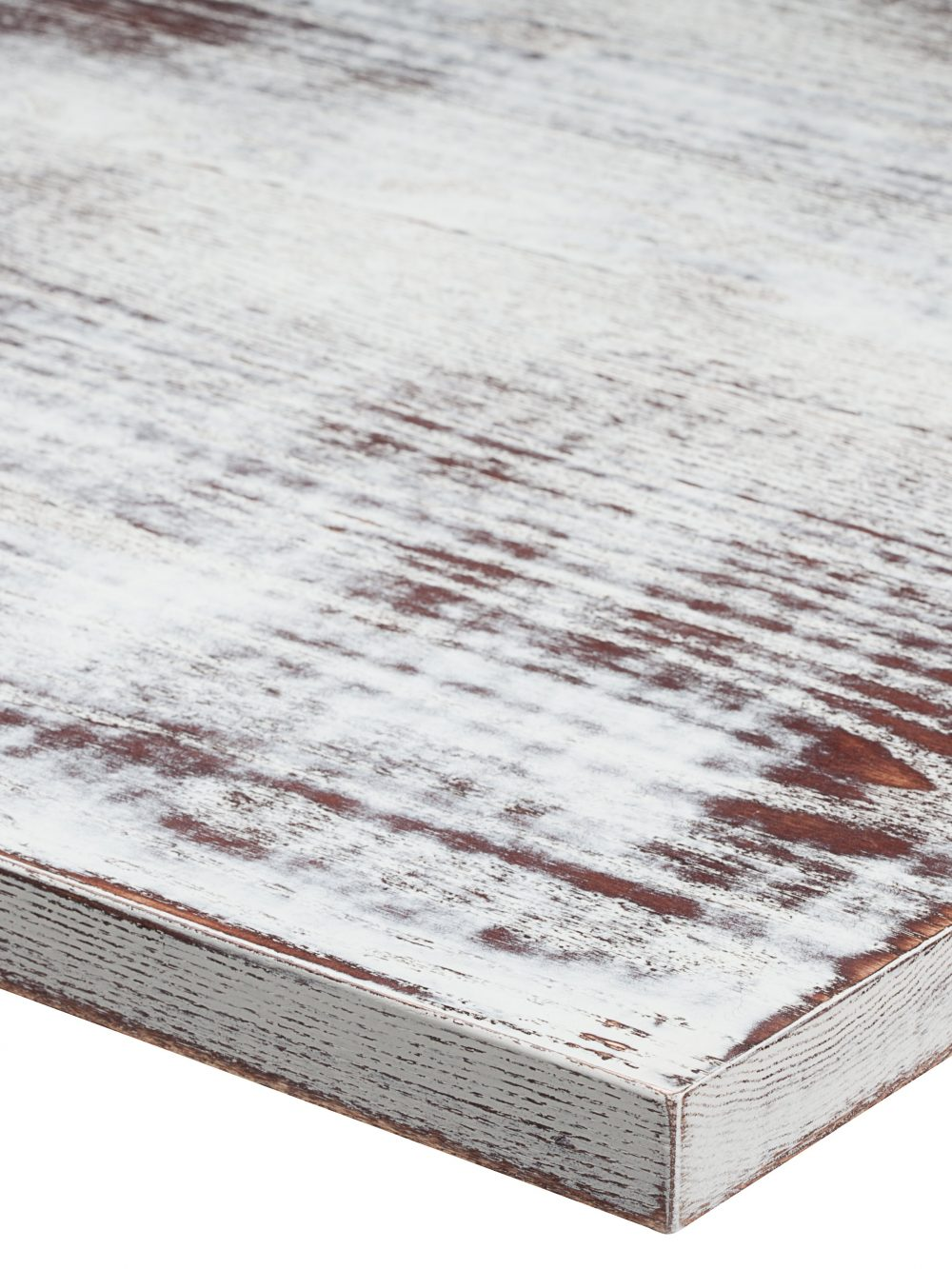 Distressed Walnut Pure White RAL 9010