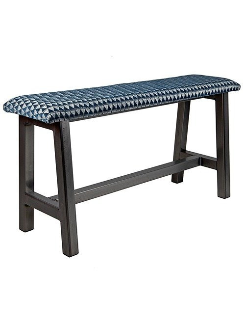 Custom Metal H-Frame Bench | Carlick Contract Furniture