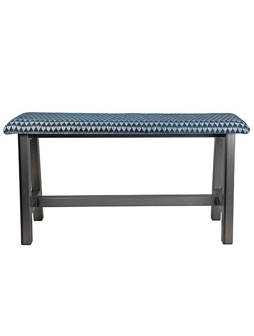 Custom Metal H-Frame Bench