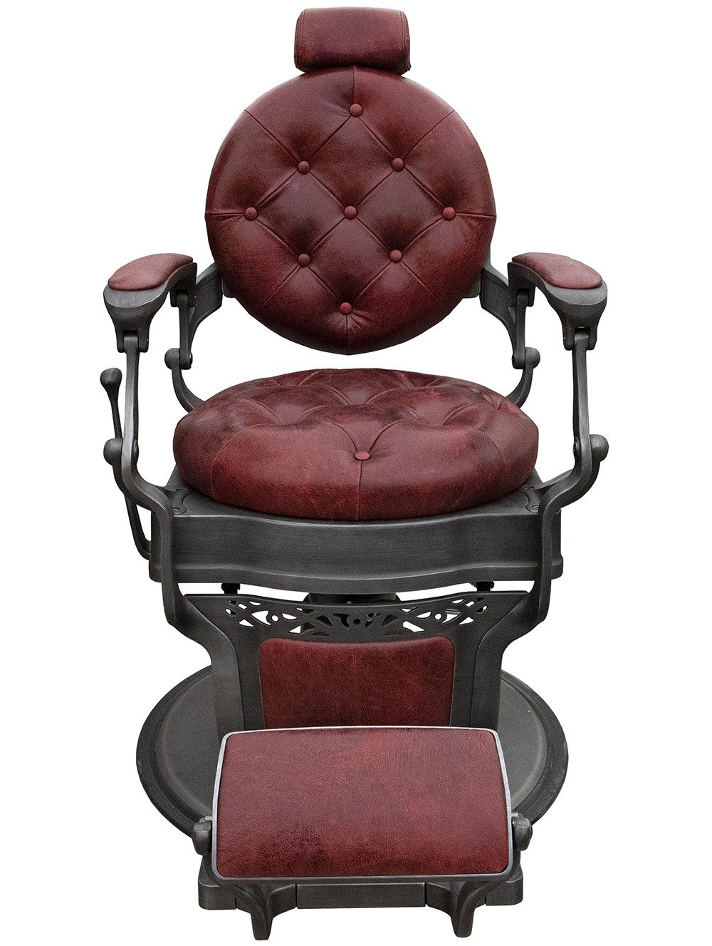 Retro Barber Chair from the front