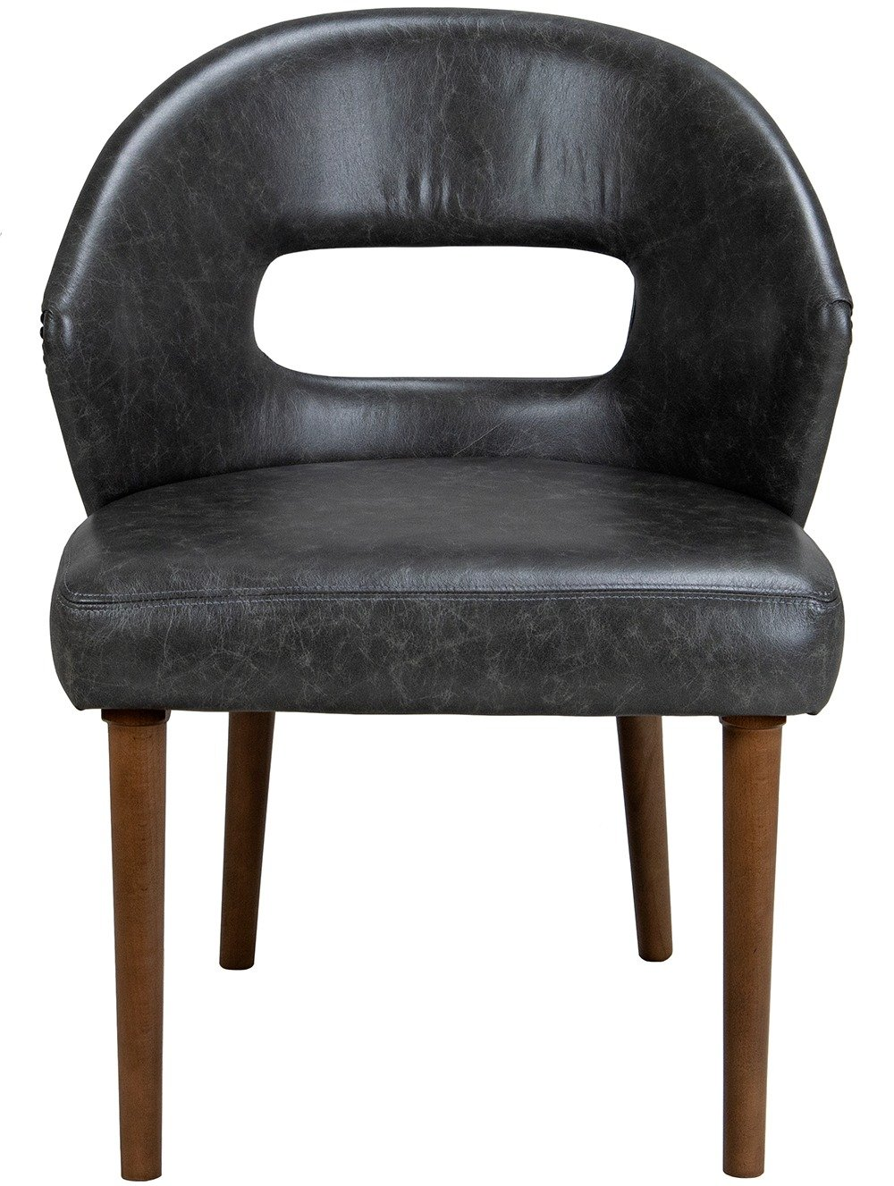 Front view of Bocca Side Chair
