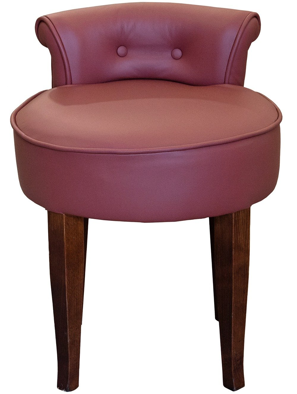 Front view of the Chloe Low Stool