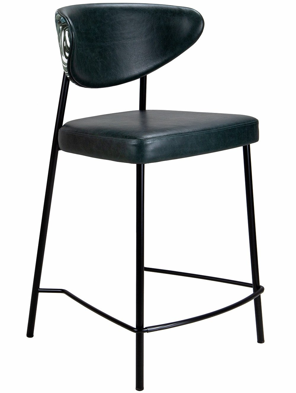 Ivy Mid High Stool from a 45 degree angle
