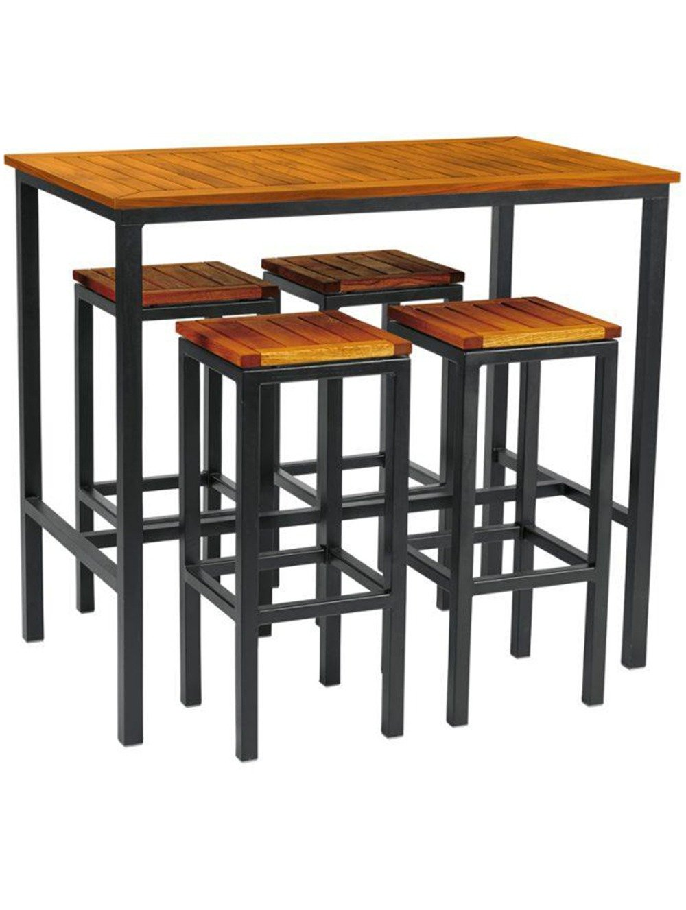 Ice High Stool Dining Set