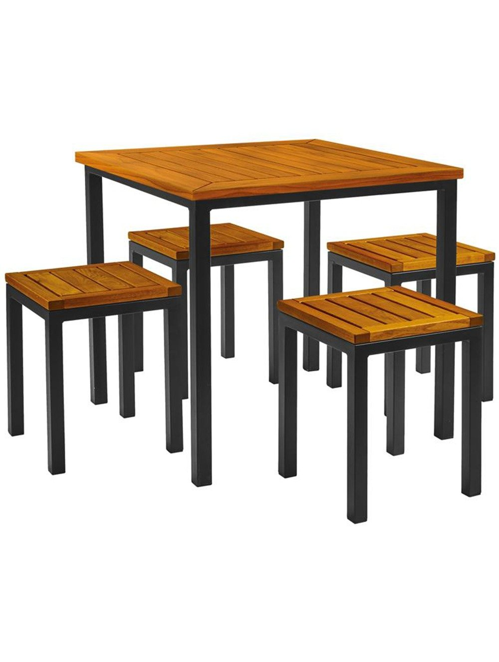 Ice Low Stool Dining Set