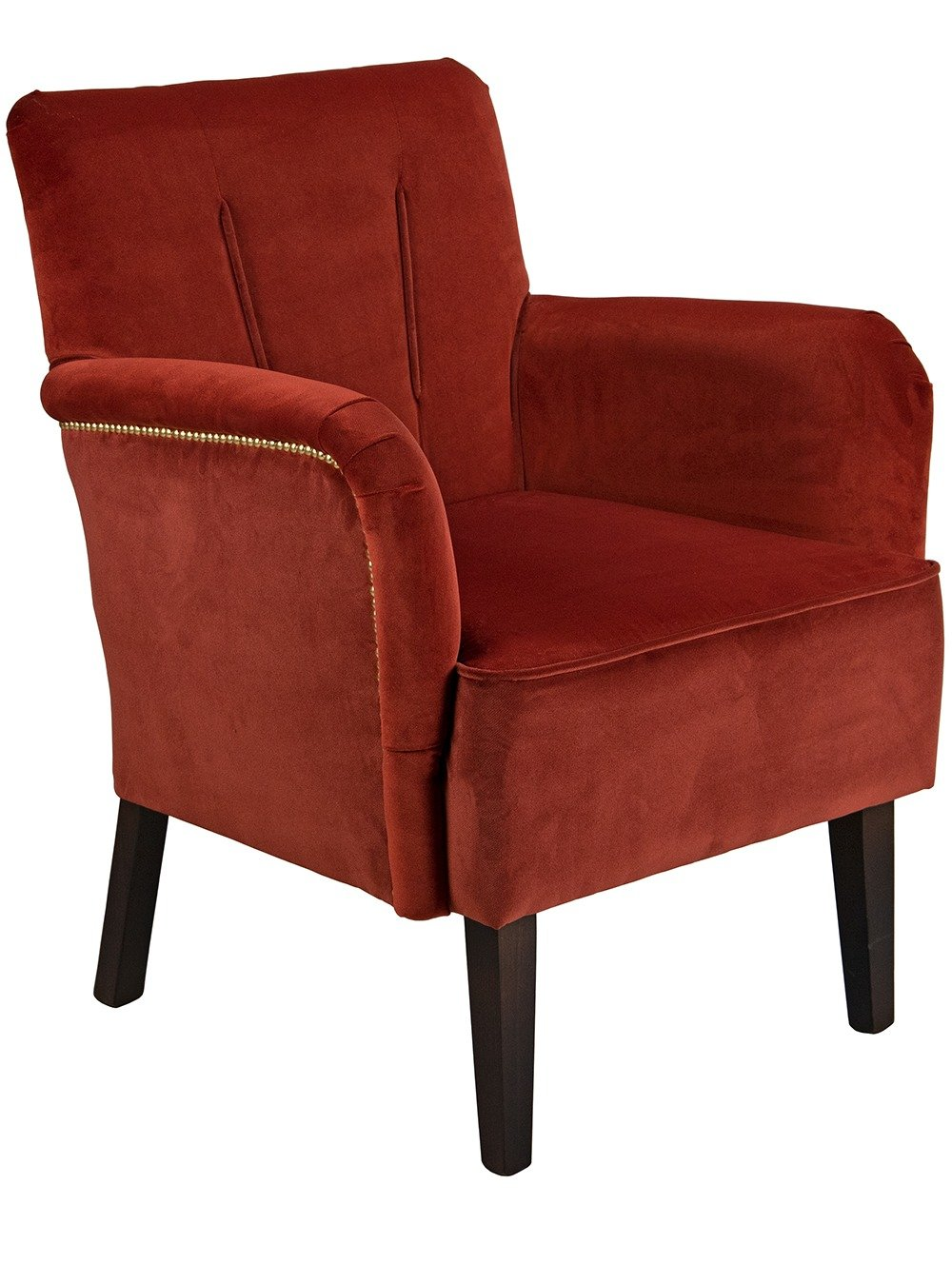 Connie Lounge Chair from a 45 degree angle