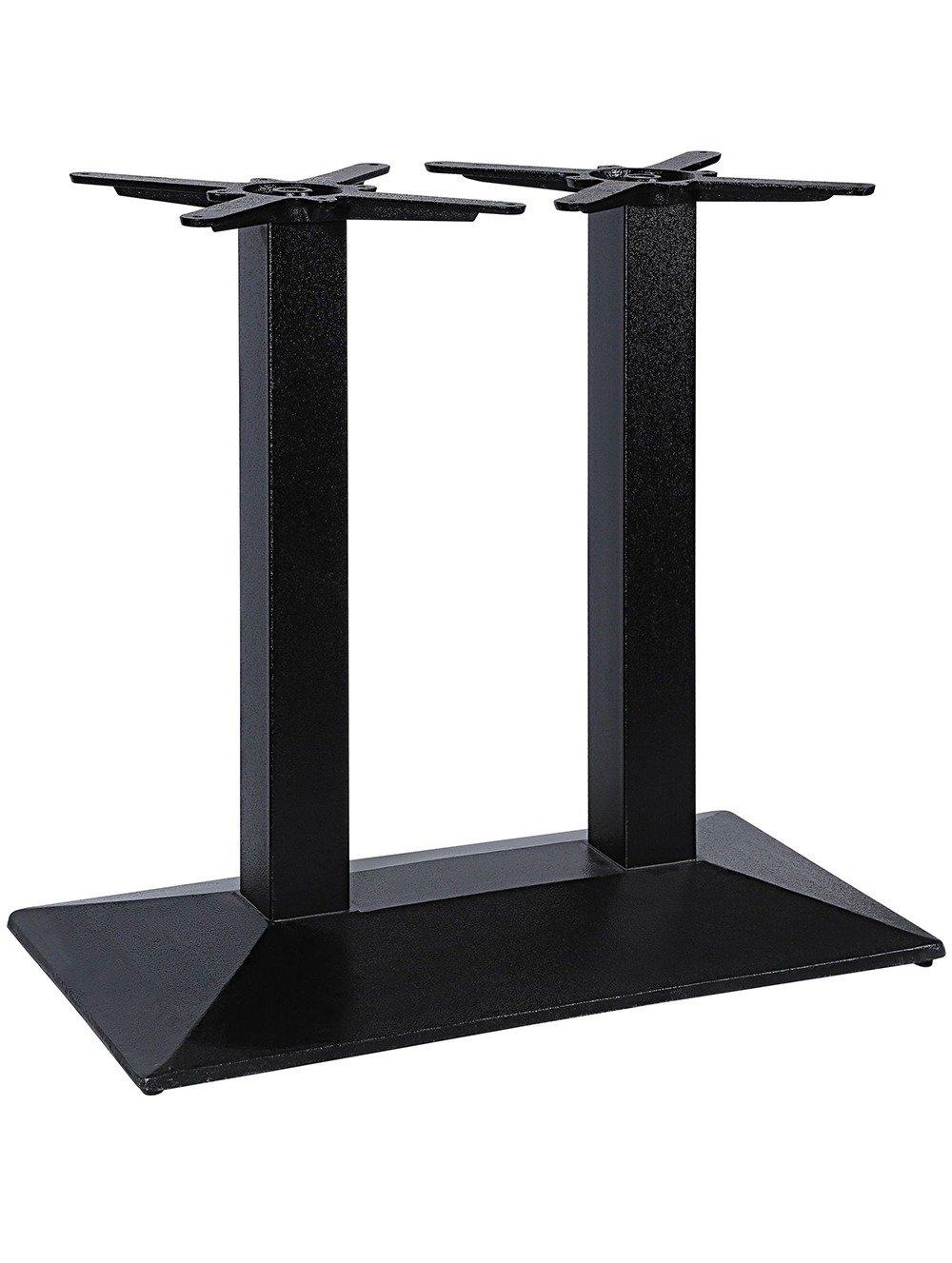 Pyramid twin pedestal
