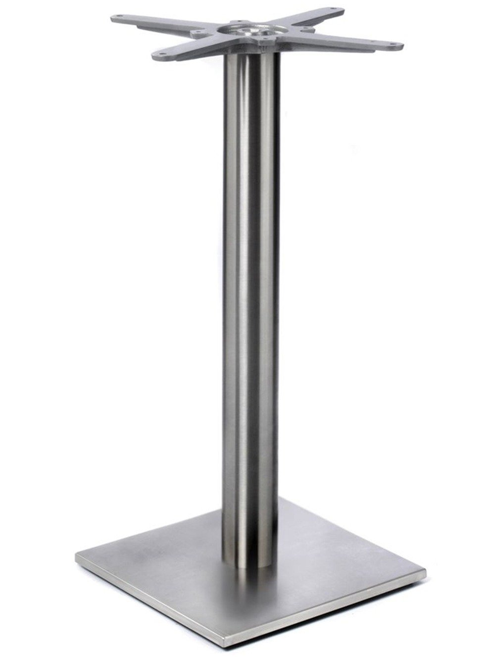 chrome profile dining base small square