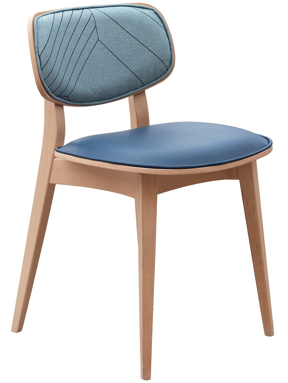 Violet side chair